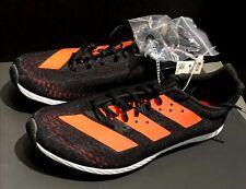 Adidas Women Adizero XC Sprint Black Orange Track Shoes Metal Spikes/Tool F35764