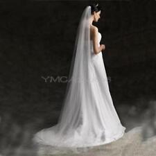 New Bridal Veil Wedding Veil White 2 Meters Bridal Long Trailing Single-veil