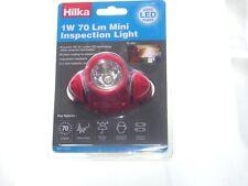 Hilka 1W 70 LM LED Mini Inspección de Trabajo Luz Lámpara Cabezal Antorcha f.u.m. herramientas FUM