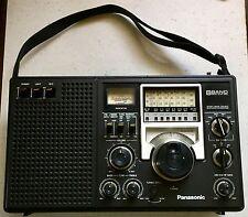 Vintage RF-2200 Panasonic 8 Band AM FM Shortwave Radio Working AC/DC Military