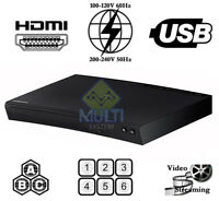 Samsung J5100 CODEFREE Multi Zone All Region Code Free Blu-Ray DVD Disc Player