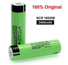 Panasonic NCR18650B 3400mah senza pin ORIGINALE Batteria Ricaricabile Li Ion