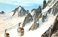BF40418 chamonix mont blanc france aiguile du midi  cable train teleferique