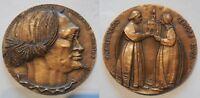Medaglia a ricordo della certosa di pavia 1996 incisore Grilli