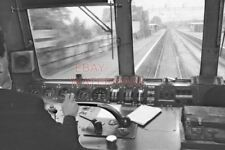PHOTO  VIEW FROM THE CAB OF  THE ROYAL SCOT 1971