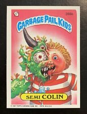 1987 Garbage Pail Kids 9th Series Semi Colin 355b NICE NM-MT Pack Fresh Card TWT