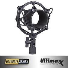 ULTIMAXX Microphone Shock Mount for 1.77 inch / 45mm Diameter Microphones