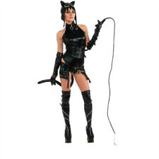 LICENSED ANIME CAT WOMAN SEXY DOMINATRIX AMECOM HEROINE SERIES COSTUME RUBIES XS