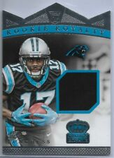 2015 Crown Royale Devin Funchess Rookie Royalty Jersey Carolina Panthers /499