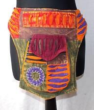 NEW HAND MADE FAIR TRADE HIPPY BOHO FESTIVAL MONEY BELT BAG FROM NEPAL