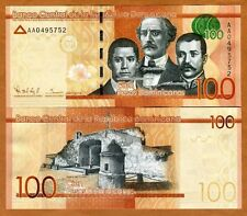 Dominican Republic, 100 Pesos Dominicanos, 2014, Pick 190, UNC > Redesigned