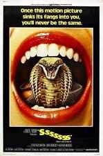 Sssssss Poster 01 Metal Sign A4 12x8 Aluminium