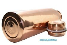 Pure Copper Water Bottle For Ayurveda Health Benefits  Leak Proof Joint Free