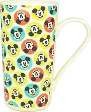 Disney Mickey Mouse Polka Dot Latte Mug Spot Coffee Retro Official