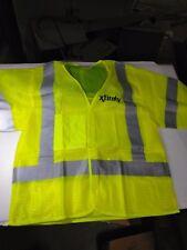 Comcast Xfinity Safety Vest Class 3 Level 2 OK5050407(LIME_GREEN _COMCAST) 4XL