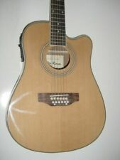 De Rosa 12 String Acoustic-electric Guitar Tobaccoburst W/gig Bag