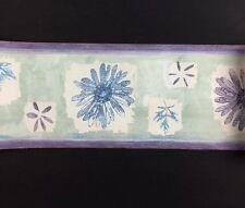NEW Imperial Prepasted Wallpaper # 30868010HD 5 Yards pastel flowers leaves