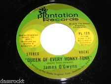 "7"" - James O´Gwynn / Gotebo & Queen of every Honky Tonk - US 1974 MINT # 3215"