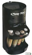 Money Miser Motorized Black Coin Sorter With Assorted Coin Wrappers my2620
