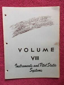 BELL 47 Helicopter Instrument & Pitot Static Systems Maint. & Overhaul Manual