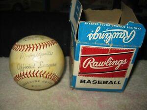Vintage Rawlings Official League Baseball 20C Facsimile Mickey Mantle Signature