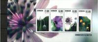 Denmark Stamp - Summer flowers Stamp - NH