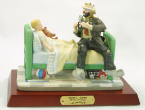 Emmett Kelly Jr Clown - Kodak's Bedside Hospital Visit w/ camera #9913