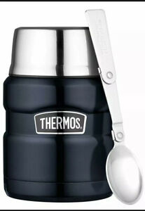 Thermos Stainless King Food Flask Midnight Blue 470ml