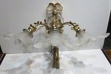 Magnifique APPLIQUE Ancienne à 3 Branches en Bronze doré XIXème siècle Lampe