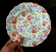 A Beautiful James Kent Chintz Hydrangea Cake Plate