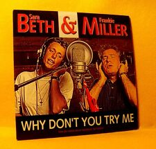 Cardsleeve Single CD SARA BETH & FRANKIE MILLER Why Don't You Try Me 2TR 1993