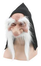 Bristol Novelty BM232A Gnome With Hood/beard White Mask One Size
