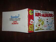 IL MENSILE DI LUPO ALBERTO N° 8 PRIMISSIMA EDIZIONE EDITORIALE CORNO LUGLIO 1984