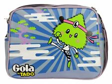 Gola By Tado Judo Redford Messenger Record Bag Retro Heather Lilic Lime