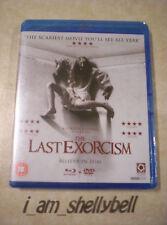 Sealed THE LAST EXORCISM Blu-ray & DVD Set FREE POST