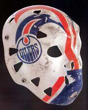 Grant Fuhr Goalie Mask - Oilers, 8x10 Color Photo
