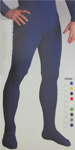 Adult Mens Professional Color Choice Tights With Feet Under Costume Accessory