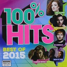 New: 100% HITS BEST OF 2015 (Ed Sheeran,Sia,& More!) CD