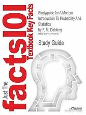 Studyguide for a Modern Introduction to Probability and Statistics by Dekking, F