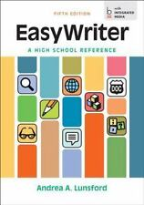EasyWriter, a High School Reference by Andrea A. Lunsford (2014, Hardcover)