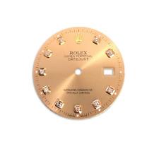 Rolex DateJust Champagne Diamond Dial