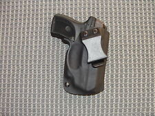 Ruger LC9/LC380 With Crimson Trace Laser IWB  Kydex Holster Black Right Hand