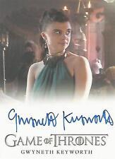 """Game of Thrones Season 6 - Gwyneth Keyworth """"Clea"""" Autograph Card"""