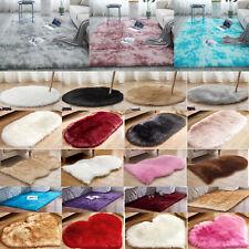 Fluffy Anti-Skid Soft Shaggy Area Rug Carpet Bedroom Home Decor Soft Floor Mats