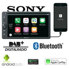 Sony Radio de Voiture 2 Din Bluetooth DAB+ Apple Carplay Android USB Autoradio