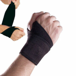 Adjustable Neoprene Hand Wrist Palm Wrist Strap Wrap Support Brace Sprain Carpel
