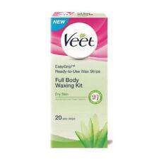 New Veet Full Body Waxing Kit 20 strips for Dry Skin