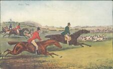 Full cry 1904 fox hunting hounds and horses