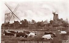 Clayton Mill Windmill Hassocks Nr Brighton unused RP old pc Wardell