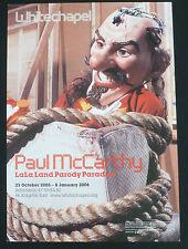 Paul McCarthy - LaLaLand Parody Paradise   2006 ART EXHIBITION POSTER